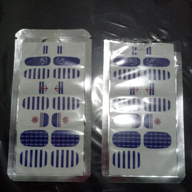32 pcs nail stickers