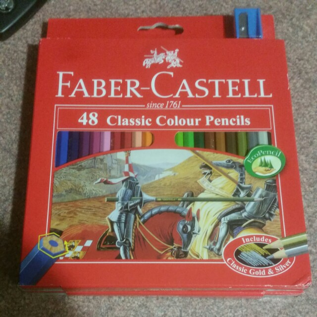 48 classic color pencils faber castell (price for 1)
