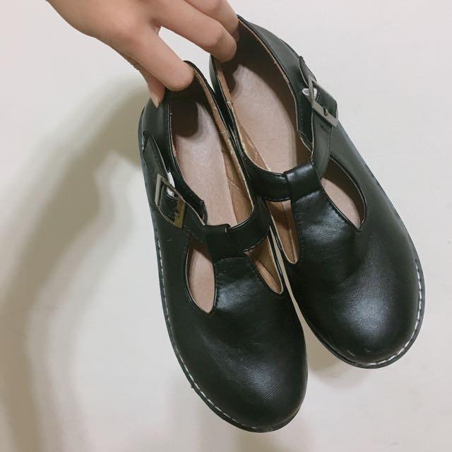 復古娃娃鞋