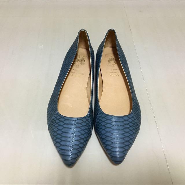 低跟尖頭鞋#有超取最好買