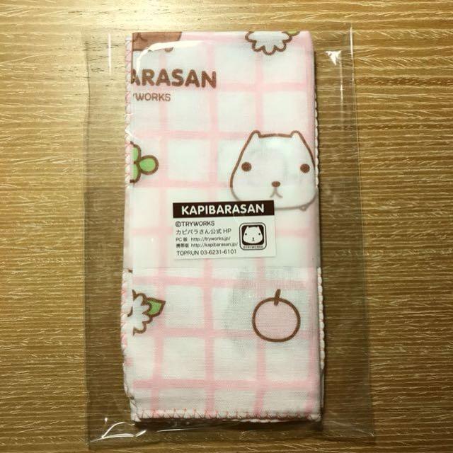 水豚君手帕 (2入) (日本製) (市價$365)