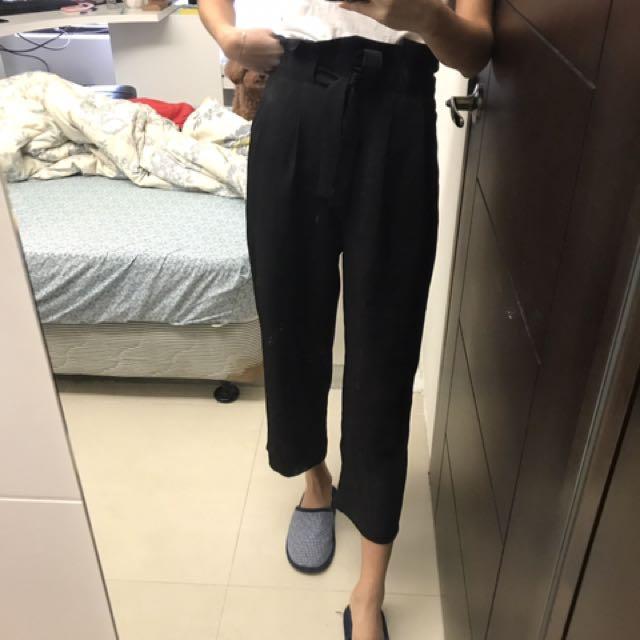 全新 花苞長褲 高腰 韓版