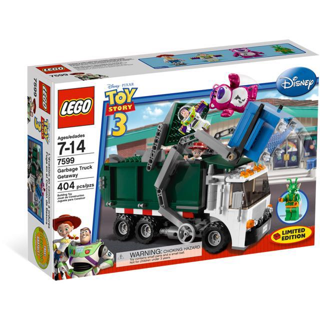 🆕 LEGO 7599 Toy Story Garbage Truck Getaway