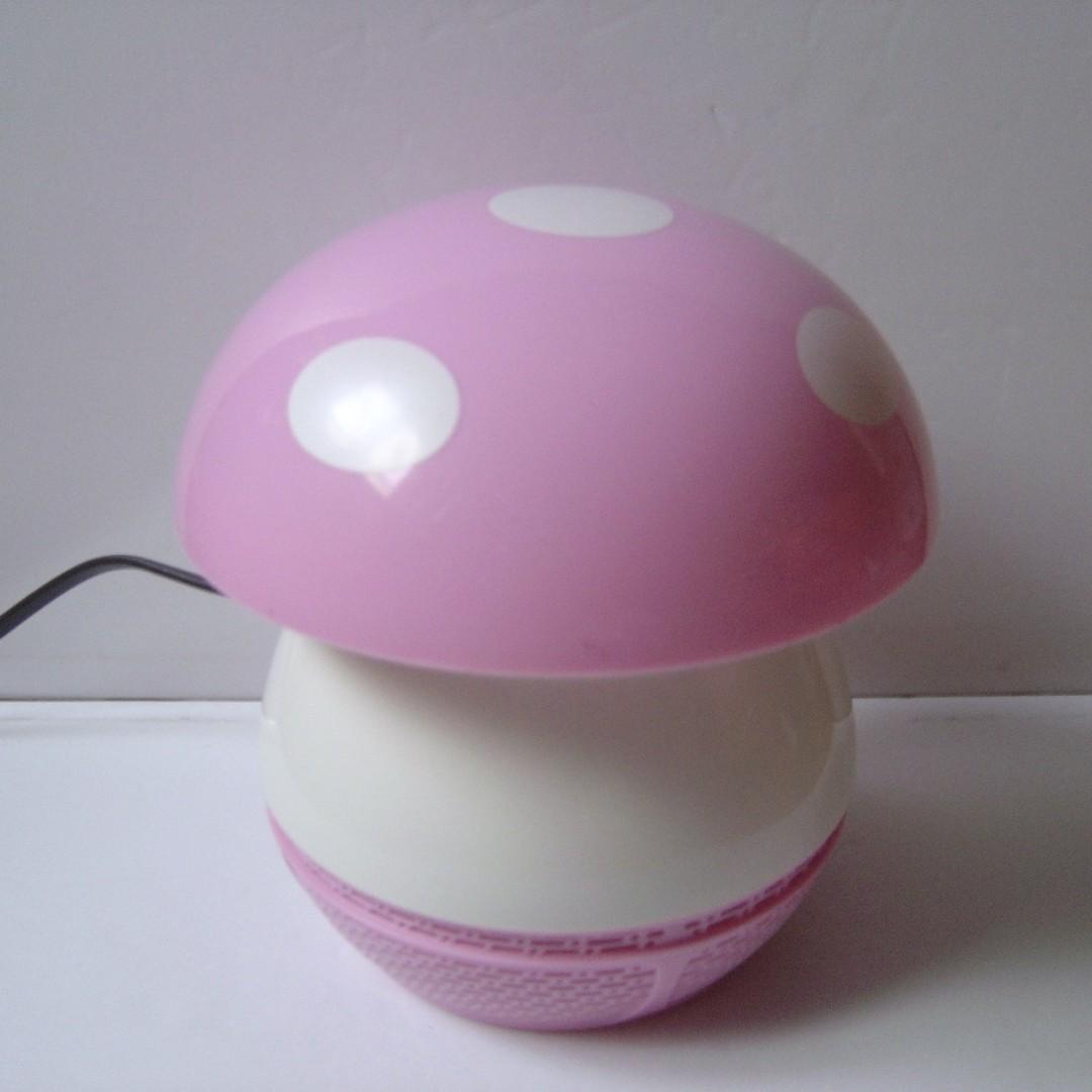 睡之寶 SB-8868 蘑菇造型捕蚊燈 LED光觸媒紫光誘蚊灯 吸入式安全環保滅蚊器~