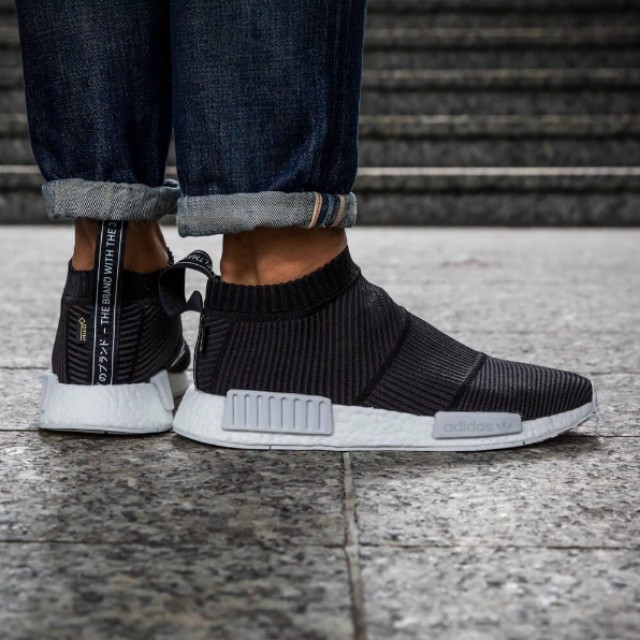 0a21fe87d18088 Adidas Nmd CS1 City Sock PK Primeknit - Gore-Tex Black