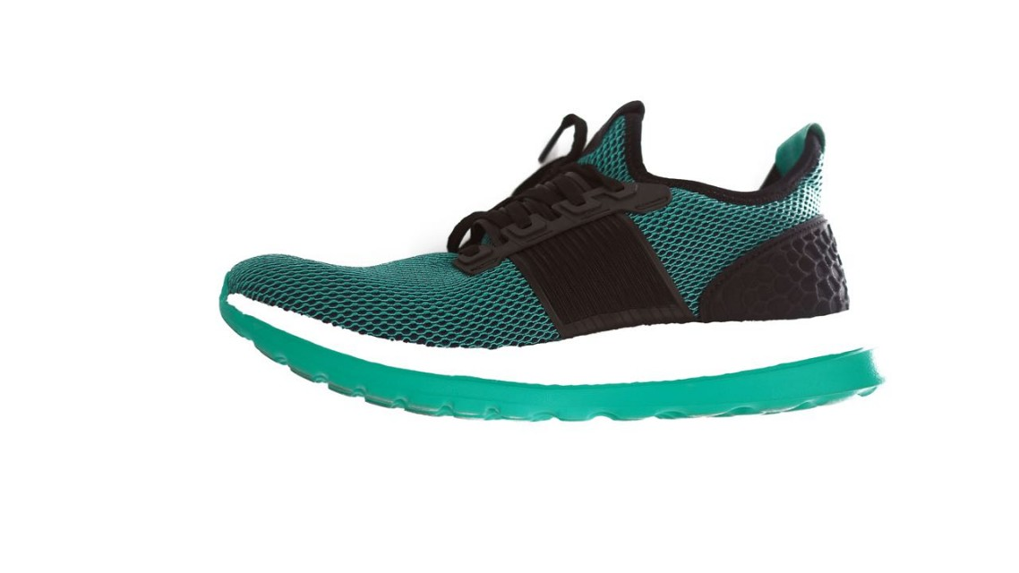 Adidas Pure Boost ZG core black/green 42