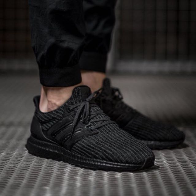 50b213002eea9 Adidas Ultra Boost 4.0 Triple Black