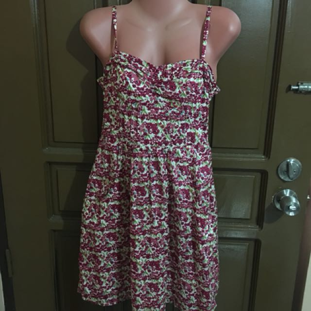 American Eagle floral dress small