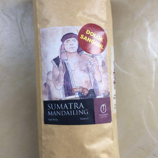 Anomali kopi sumatra mandailing dolok sanggul