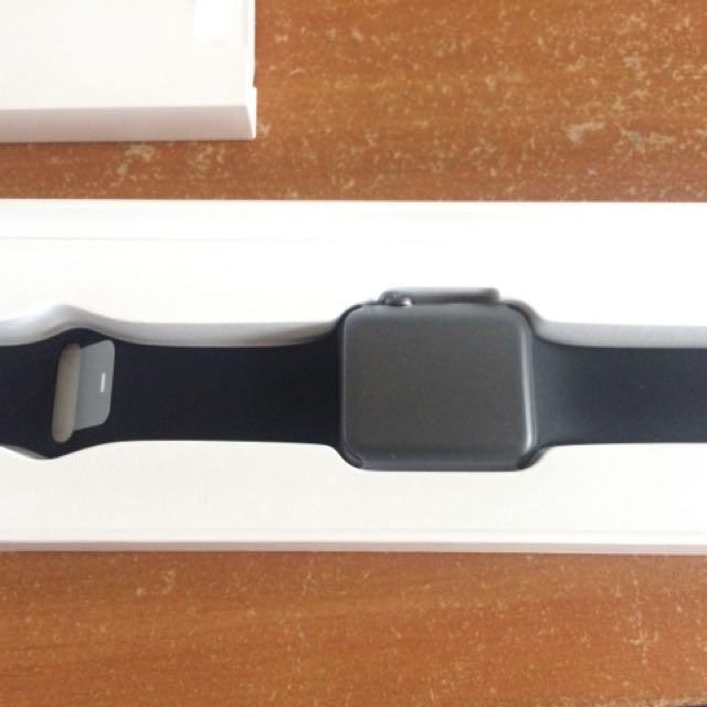 Aple watch series 1 42mm black band