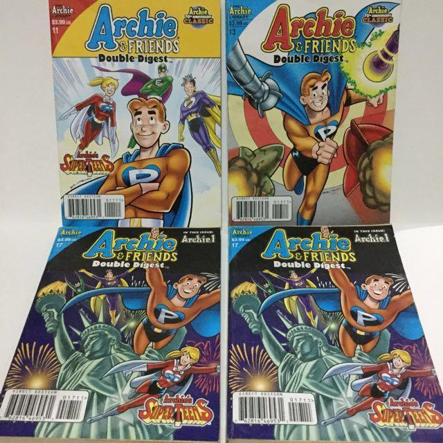 Archie Comics. Archie & Friends Double Digest