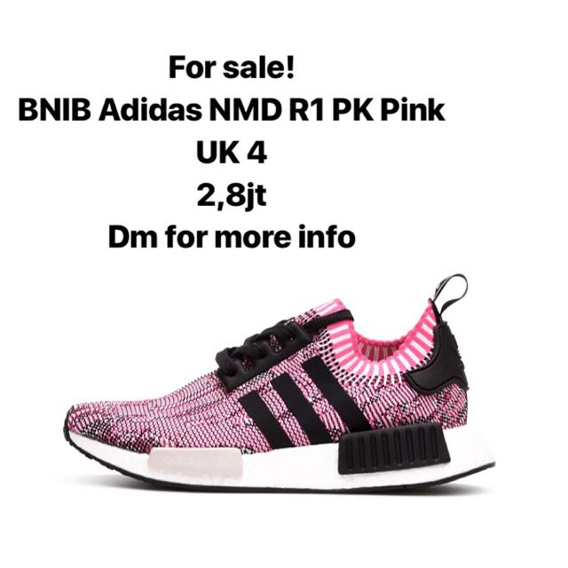 AUTHENTIC adidas NMD R1 PK pink