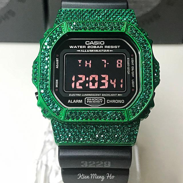 8d7b58ebe2260 Authentic bling bling Dw5600 G-Shock
