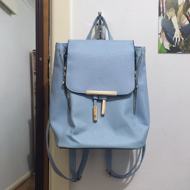🆕Baby Blue Backpack