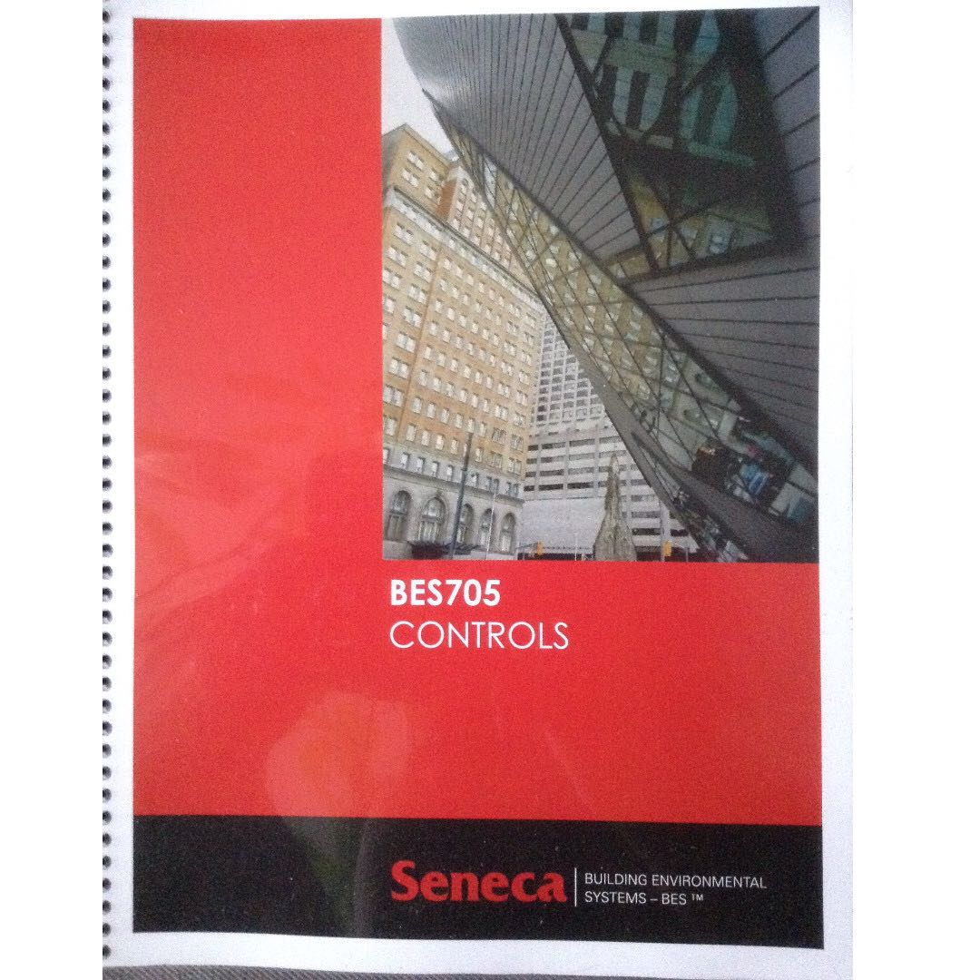 BES 705 Seneca BES textbook