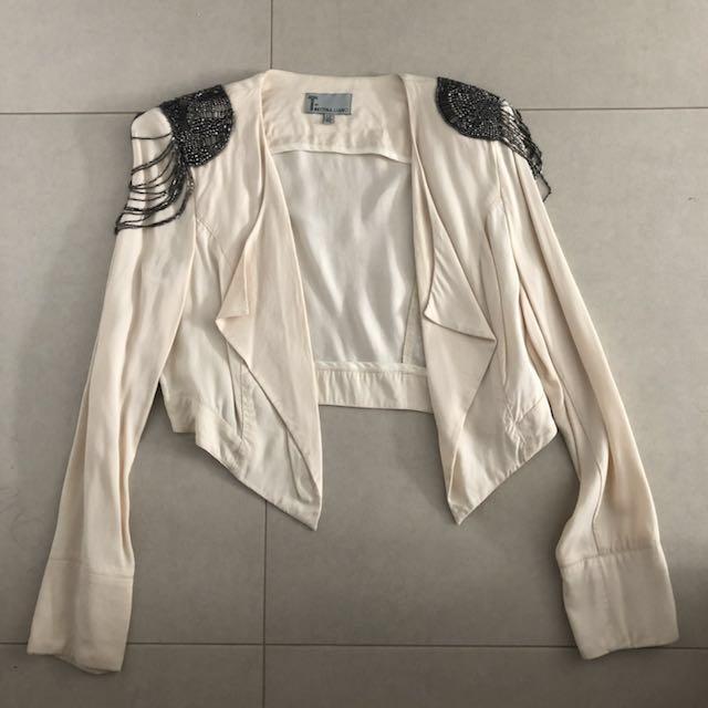 Bettina Liano crop jacket