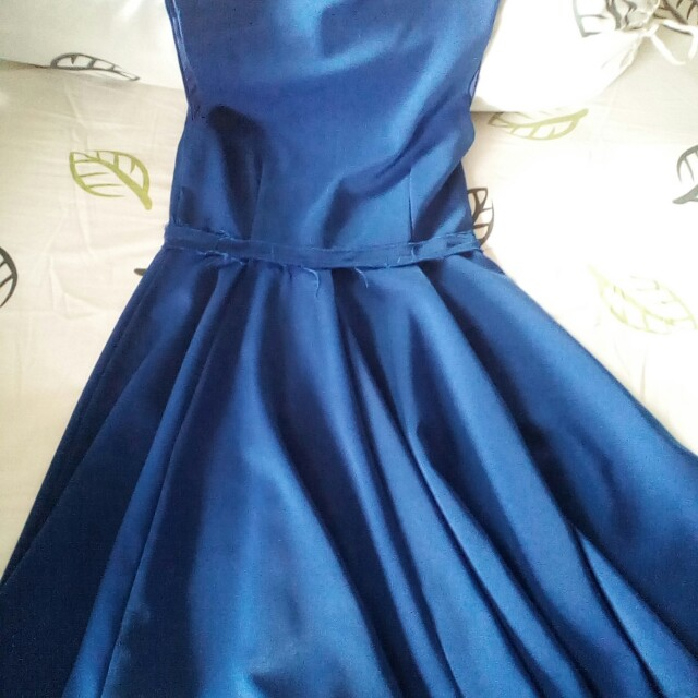 Blue Dress by Zara
