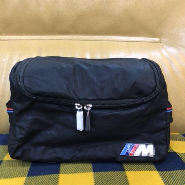 全新BMW限量盥洗包工具包收納包萬用包 M系列包