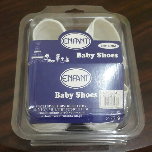 BN Enfant baptismal shoes