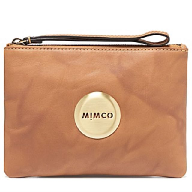 Brand New Mimco Pouch - HONEY