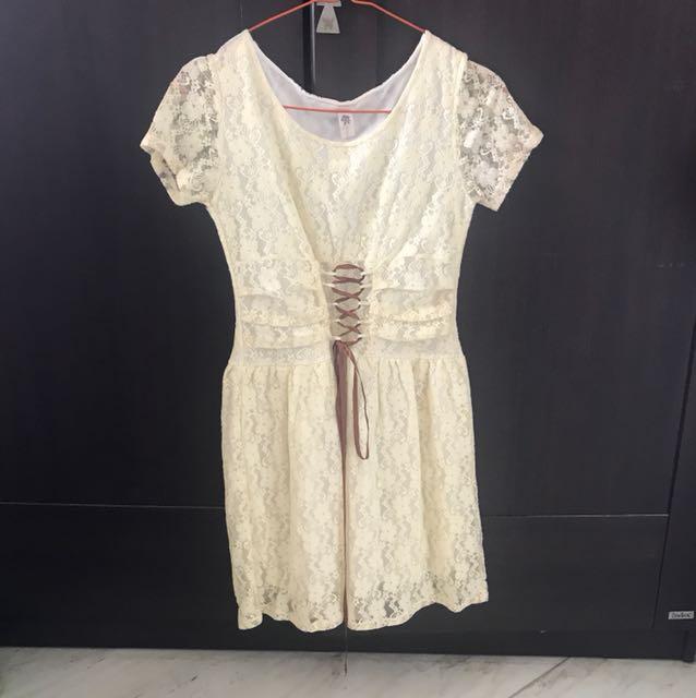 Brokade dress