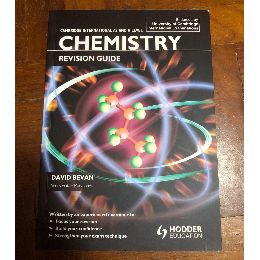 cambridge international as and a level chemistry revision guide rh sg carousell com GCSE Chemistry Revision Sheets Chemistry Revision Flash Cards