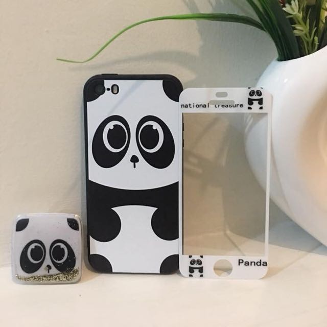 CASE WITH POP SOCKET & TEMPERED GLASS