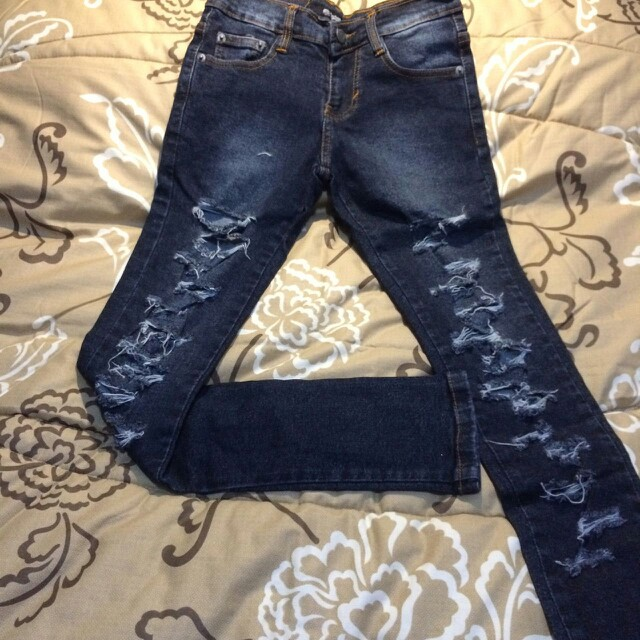 Cheapmonday Ripped Jeans