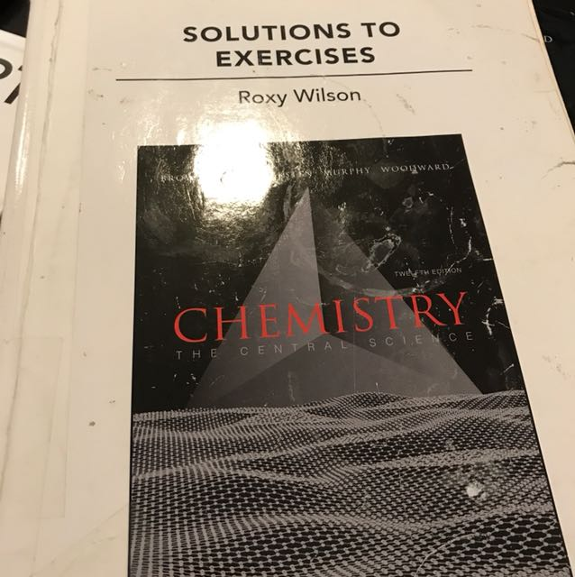 Chemistry solutions to exercises