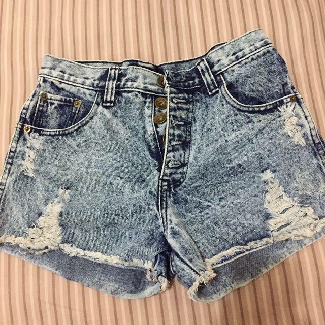 Clana pendek jeans