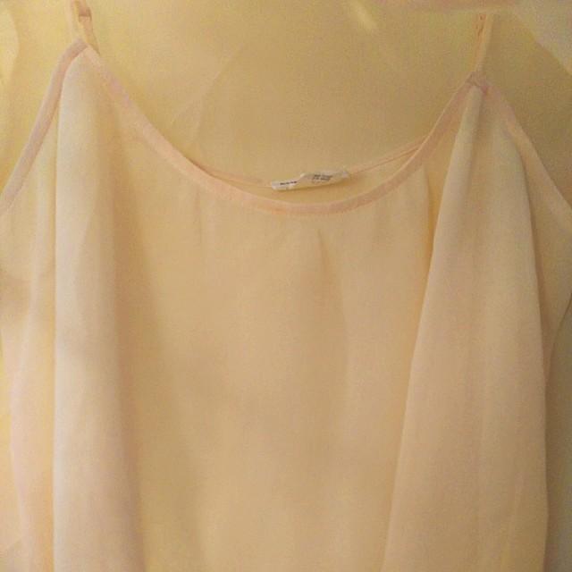 Club Monaco blouse with slip