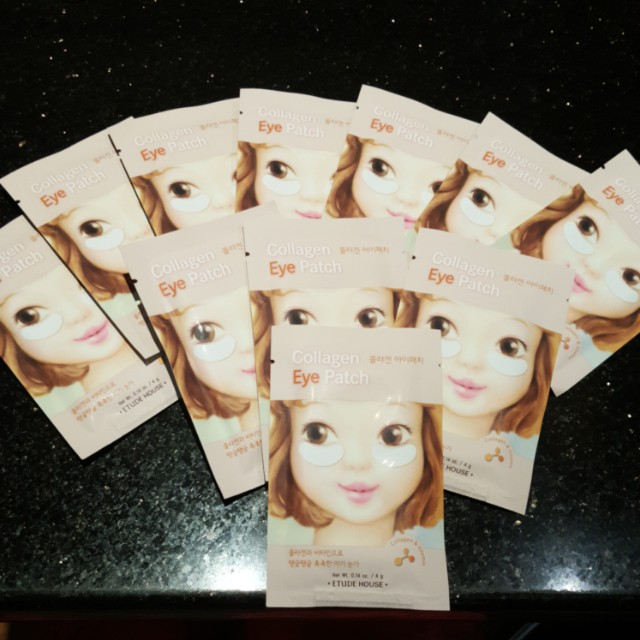 Collagen eye patch 5 pcs