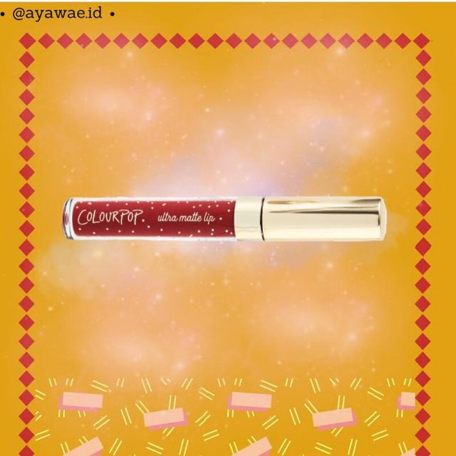 Colour Pop Ultra Matte Lip Snowfleek ori