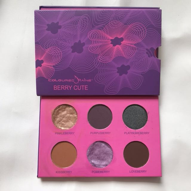 Coloured raine berry cute eyeshadow palette