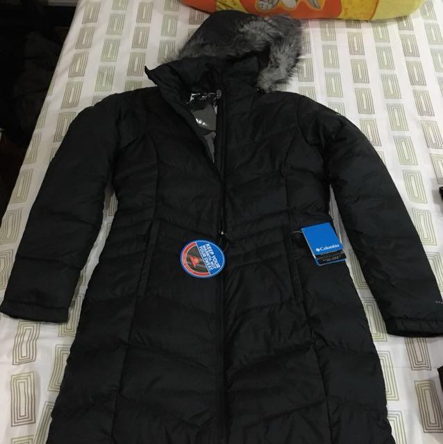 Columbia Polar Freeze Long Down Jacket
