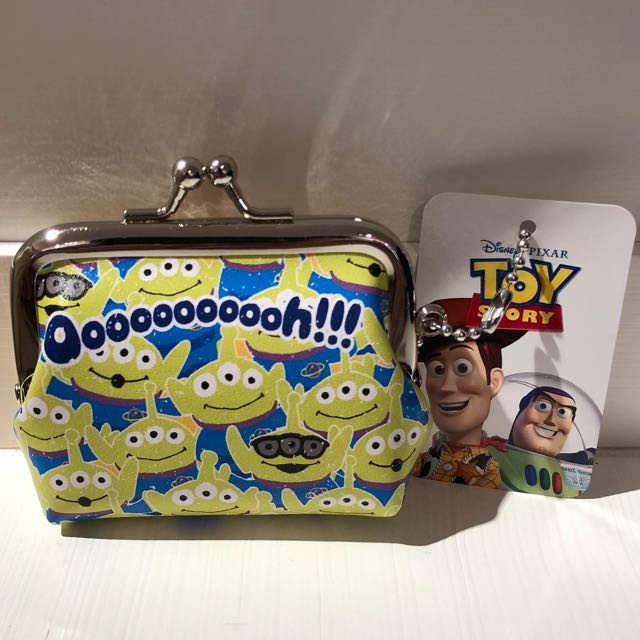 Disney 皮克斯 迪士尼玩具總動員之三眼怪 造型 零錢包