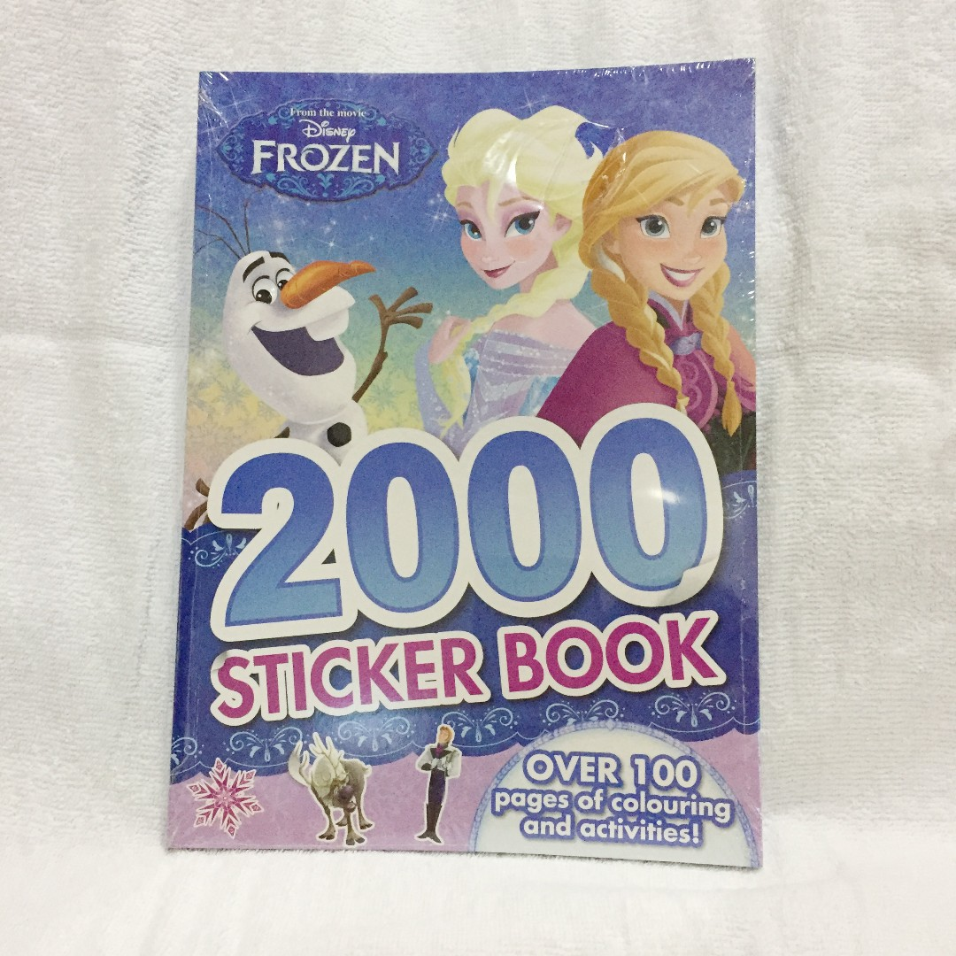 Disney Frozen 2000 Sticker Book