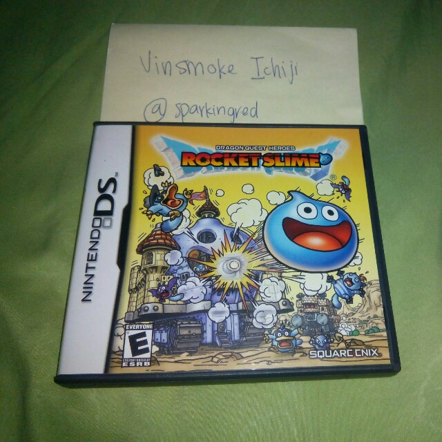 Dragon Quest Heroes Rocket Slime NDS