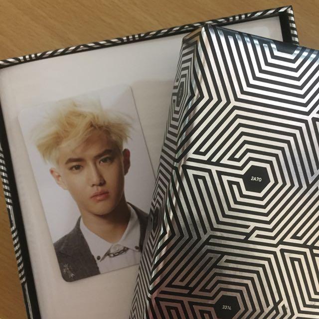 EXO Overdose Korean K-Pop CD Album