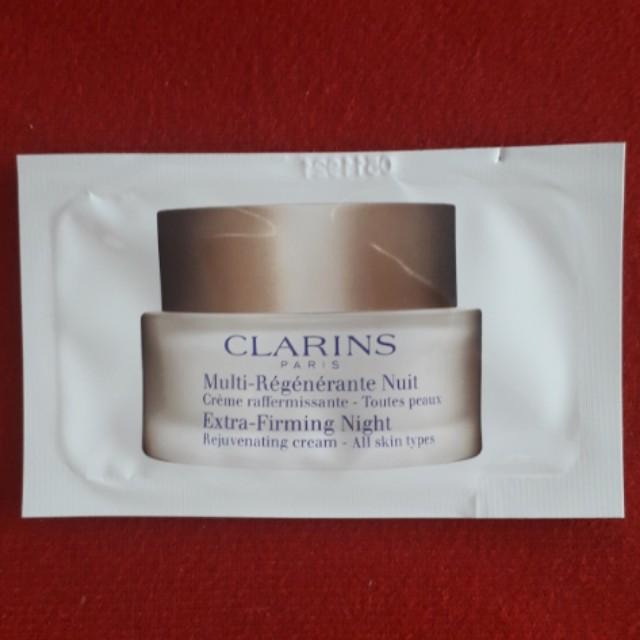 Extra-Firming Night Rejuvenating cream 2g - All skin types