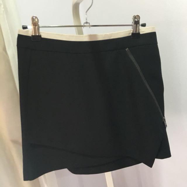 F21 Black Pencil Skirt