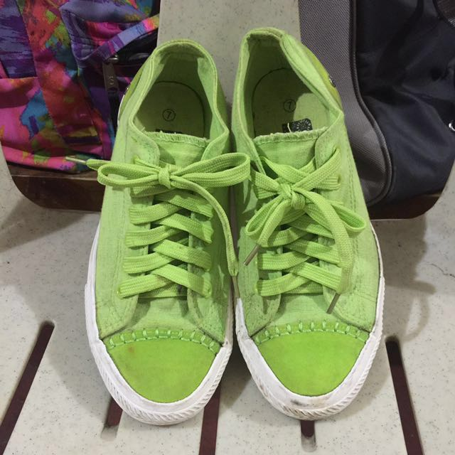 Green BENCH Sneakers Shoes