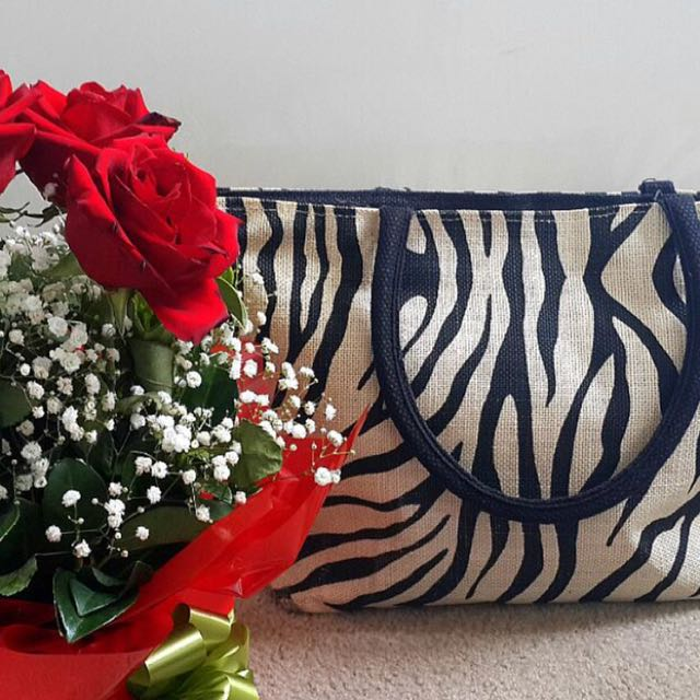 Handmade summer bag