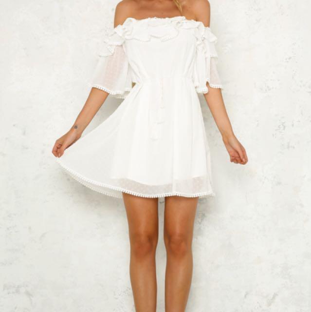 Hello Molly - 'BEYOND IT DRESS WHITE'
