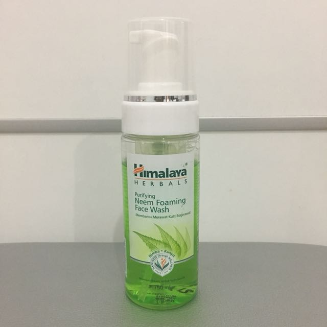 Himalaya purifying neem foaming face wash 150 ml pump