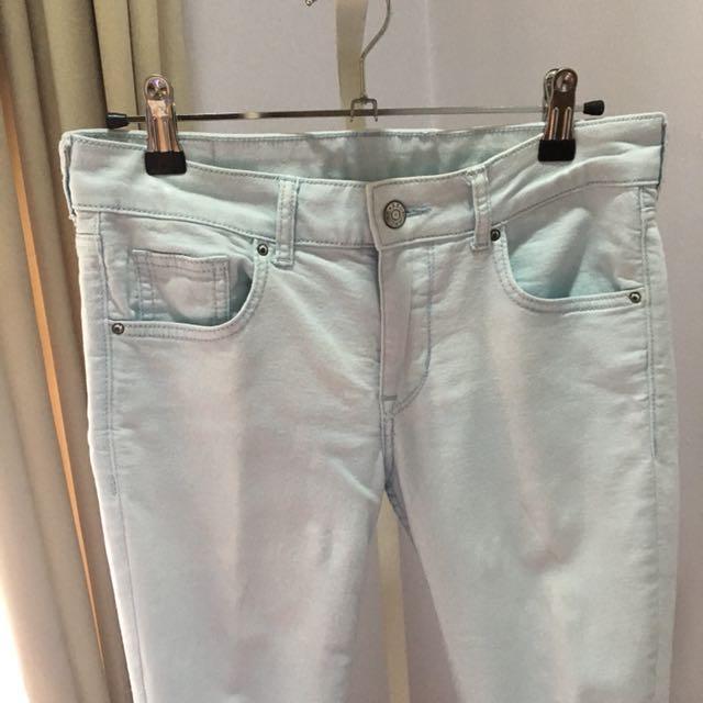 H&M Pastel Blue Jeans