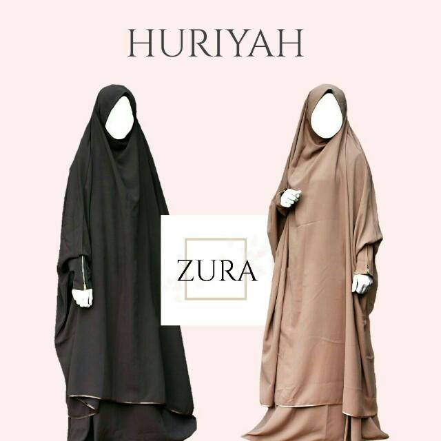 Huriyah French Hijab by ZURA, Women\u0027s Fashion, Muslimah Fashion on Carousell