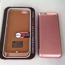 iPhone Powercase 10,000 mah Pink