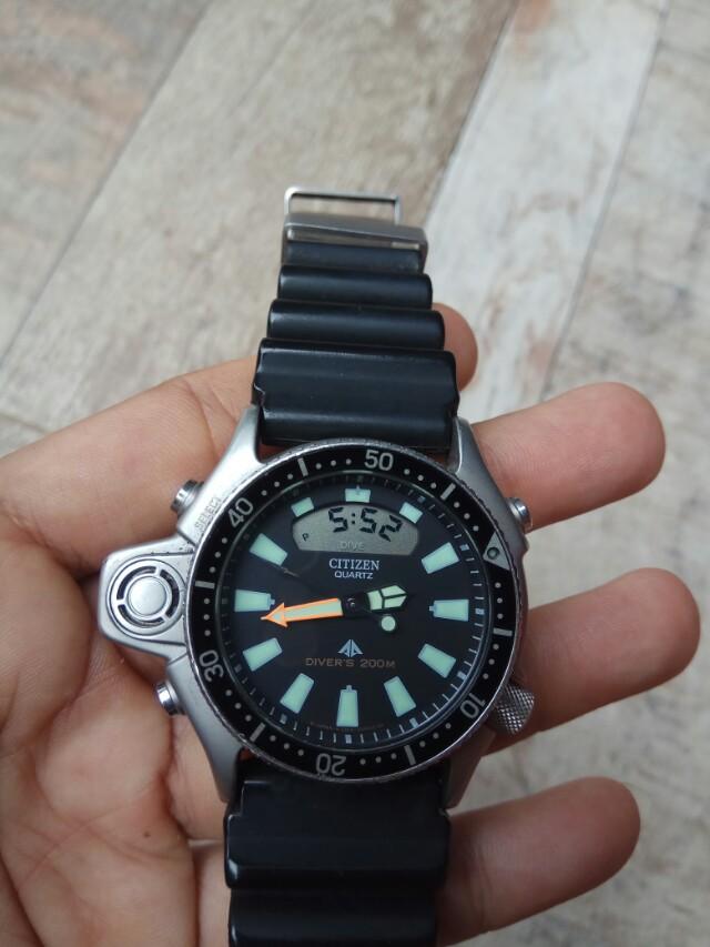 Jam tangan citizen promaster aqualand