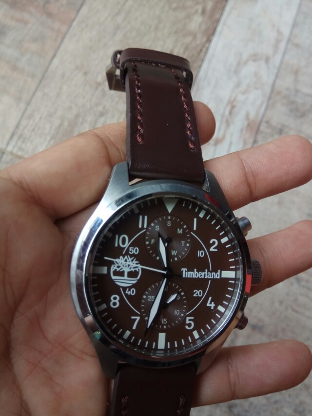 Jam tangan timberland chronograph